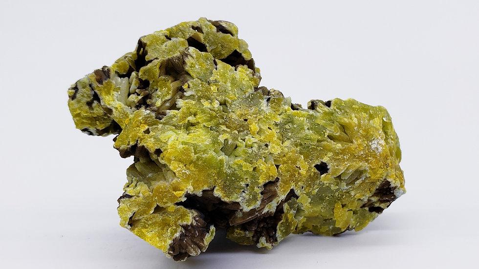Bi-Color Pyromorphite Specimen from Daoping Mine, China