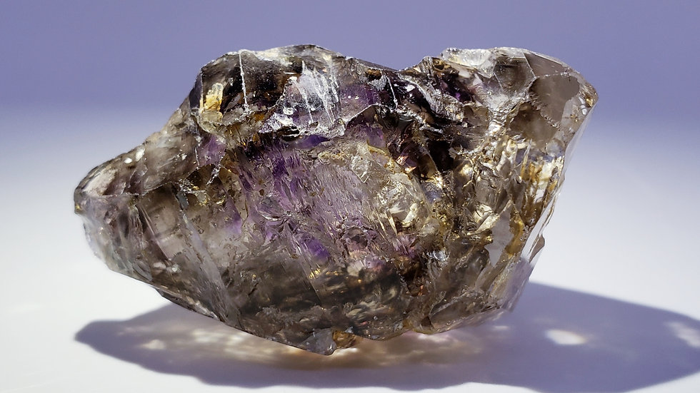 Brandberg Smoky Amethyst Dumbbell Scepter from Namibia