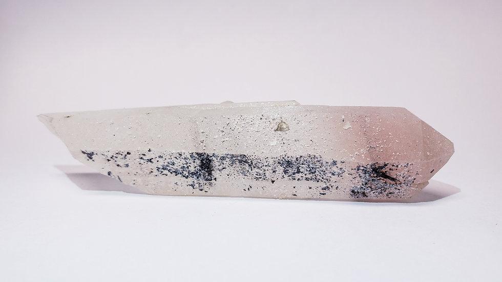 Mongolian Pink Quartz and Specularite