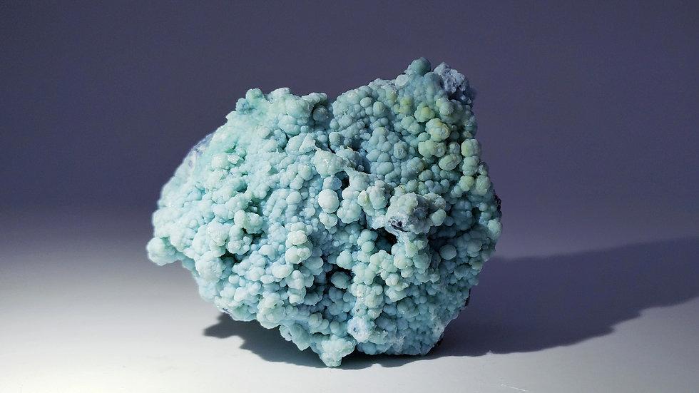 Botryoidal Gibbsite on Matrix from Wenshan, China