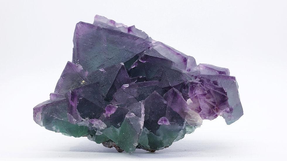 Fluorite Cluster from De'an Fluorite Mine