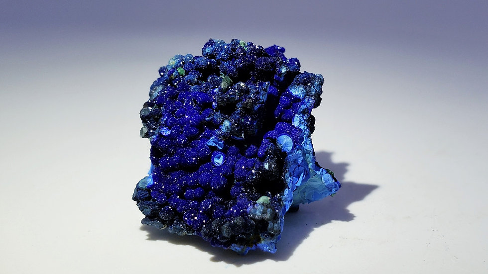 Azurite and Chrysocolla Mineral Specimen from Liufengshan Mine, Anhui, China