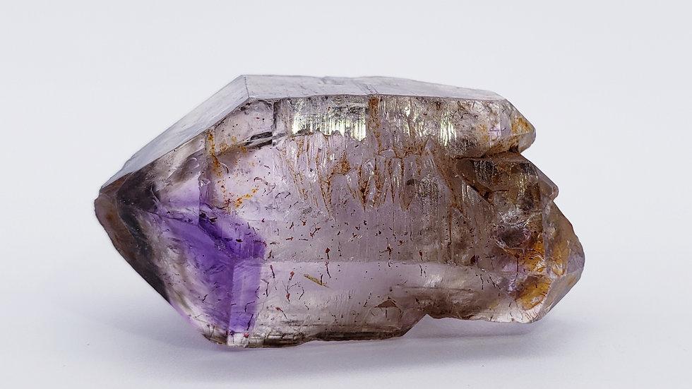 DT Enhydro Brandberg Amethyst Smoky Quartz Crystal from Goboboseb Mt., Namibia