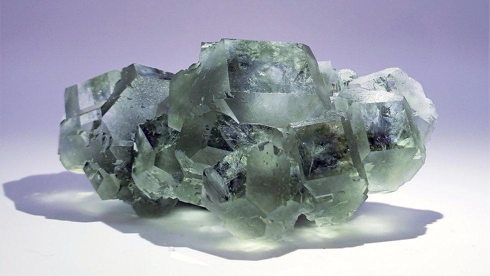 Gem Phantom Fluorite on Matrix from Xia Yang Mine