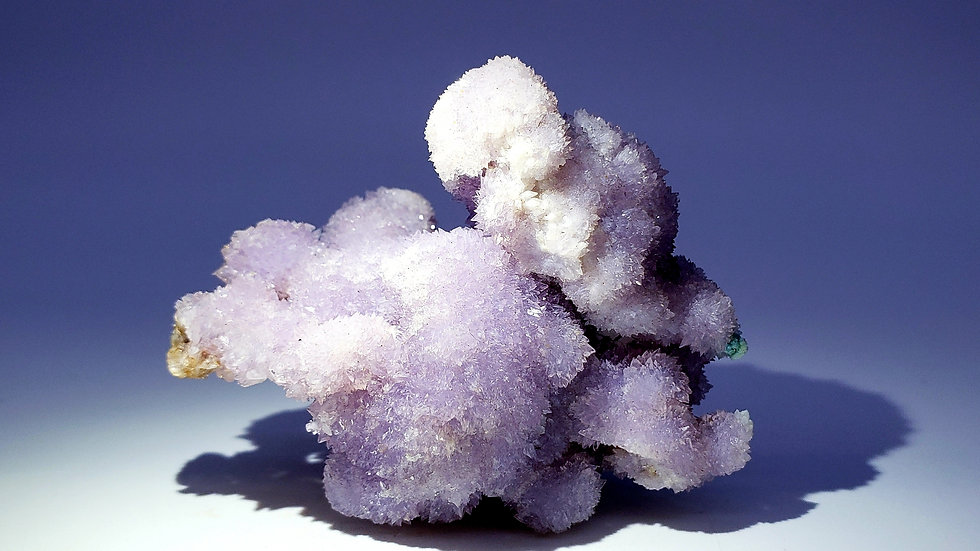 Botryoidal Creedite with Gibbsite from Qinglong Mine, China