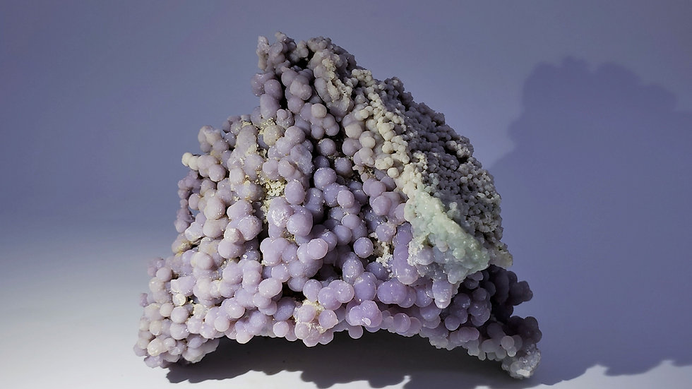 Collector's Piece: Botryoidal Chalcedony (Grape Agate) from Mamuju, Indonesia