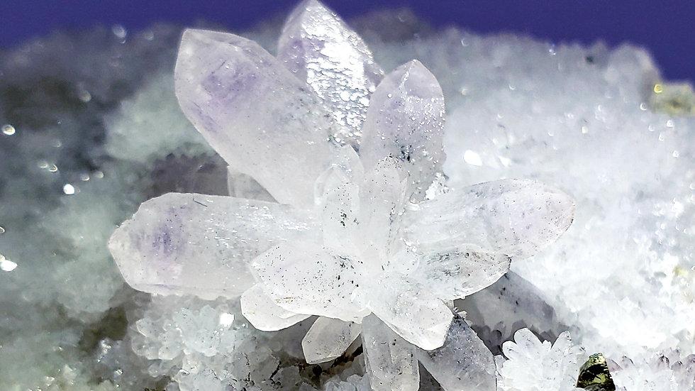 Precious Quartz var. Amethyst from Fengjiashan Mine, Daye Co.