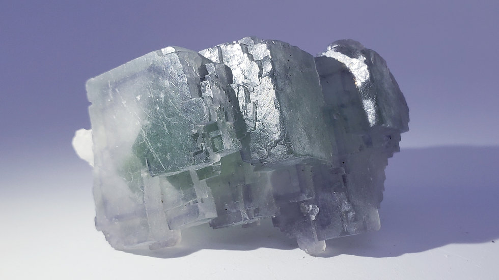 Phantom Fluorite from Yaogangxian Mine
