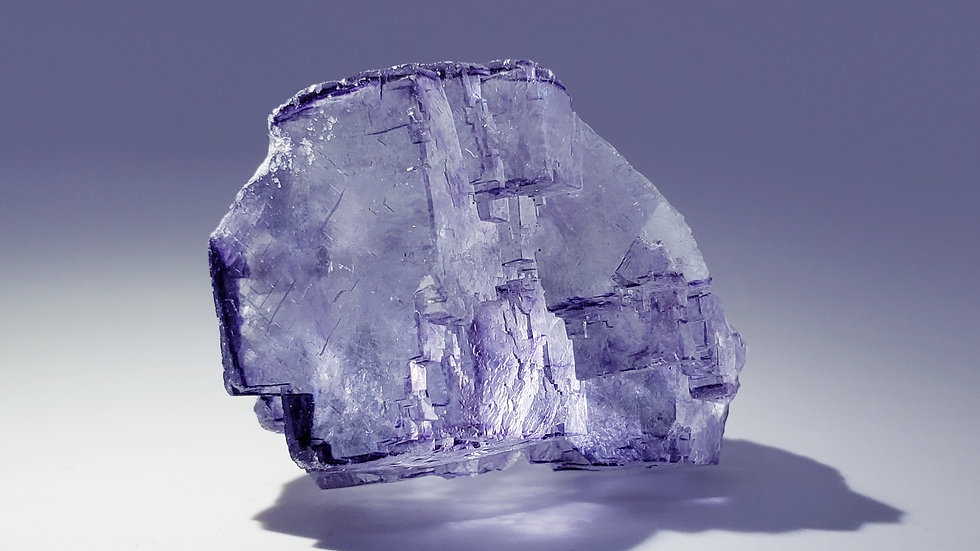 Gem Fluorite from Yaogangxian Mine
