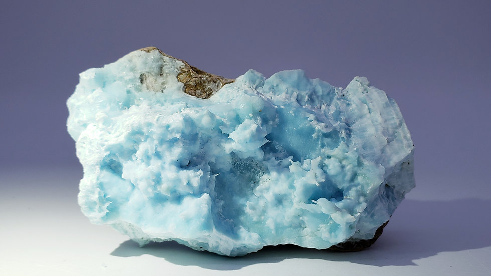 Blue Aragonite from Wenshan Mine