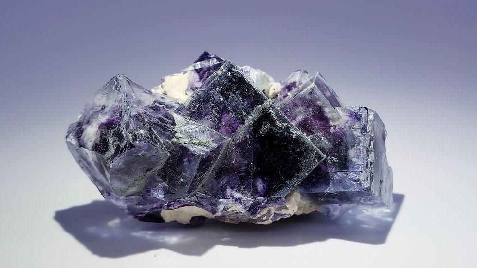 Phantom Fluorite from Yindu Mine, Inner Mongolia