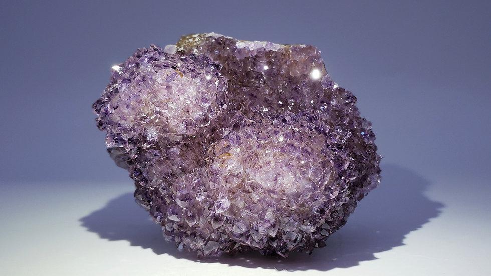 Collector's Piece: Quartz var. Amethyst from Catalán Grande Quarry, Uruguay
