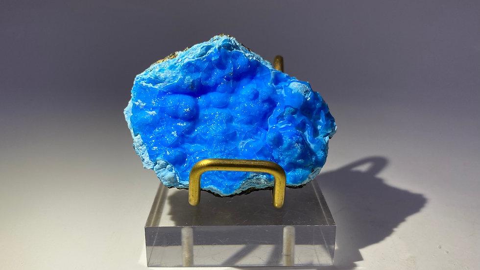 Gibbsite with Malachite from Yangwan Cu Deposit, China