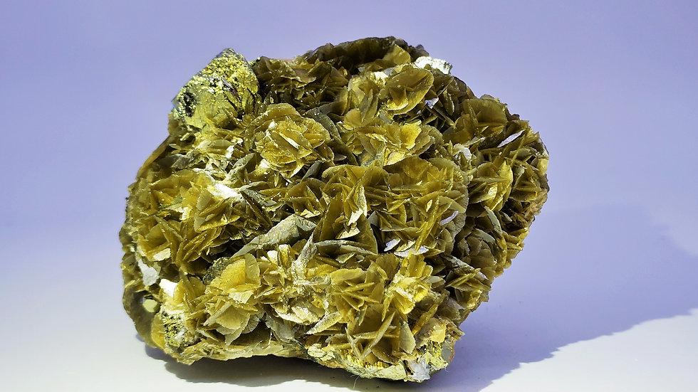 Siderite with Chalcopyrite from Kaiwu Mine, Bijie, China