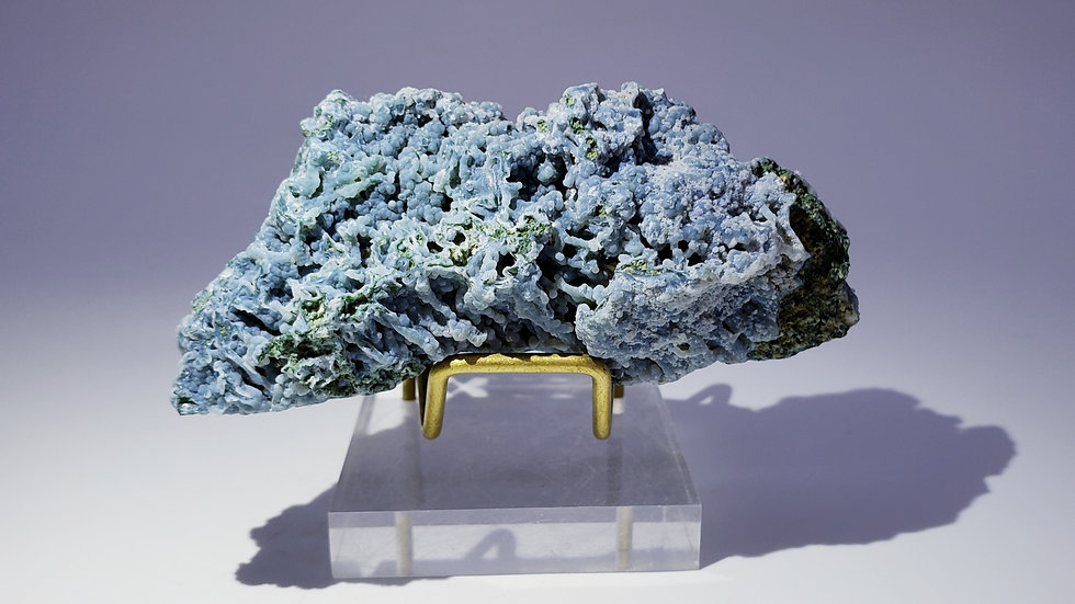 Blue Chalcedony from Nashik District, India