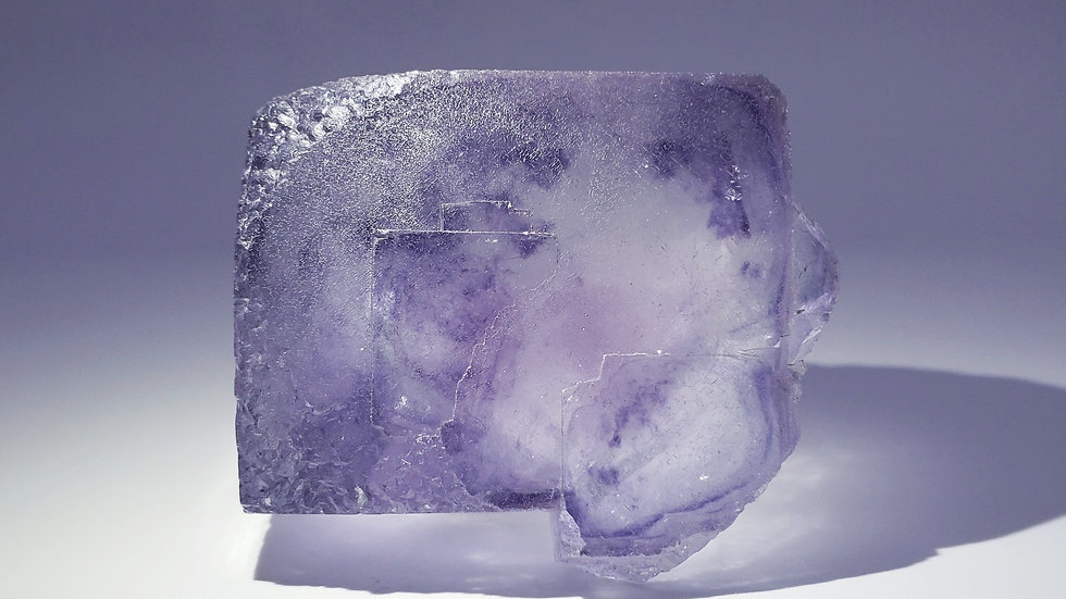 Collector's Piece: Phantom Fluorite from Yaogangxian Mine