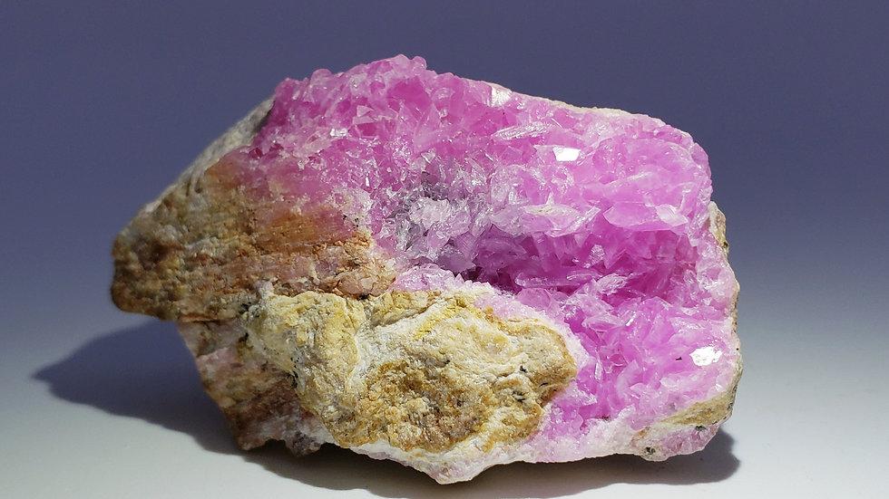 Intense Pink Cobaltoan Calcite from Congo