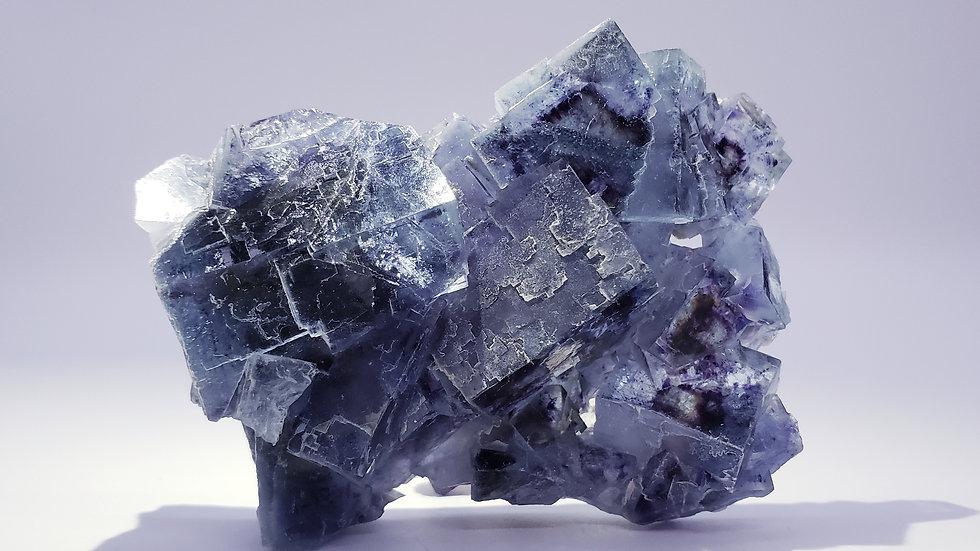 Mongolian Blue Phantom Fluorite