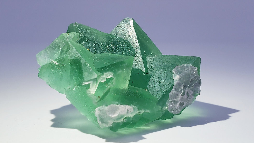 Emerald Green Fluorite from Yiwu Co.