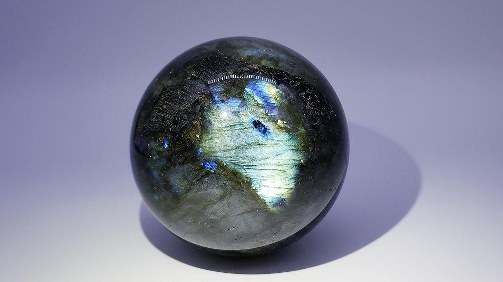 Extra Large Labradorite Crystal Sphere from Atsimo-Andrefana, Madagascar