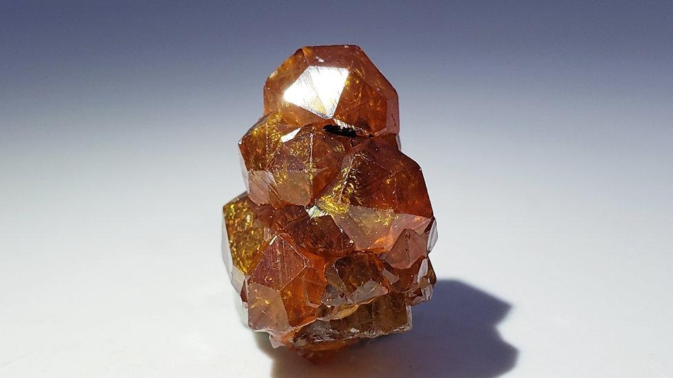 Rare Spessartine Garnets Stalactite from Wushan Mine