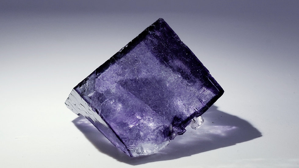 Fluorite with Calcite from Yaogangxian Mine