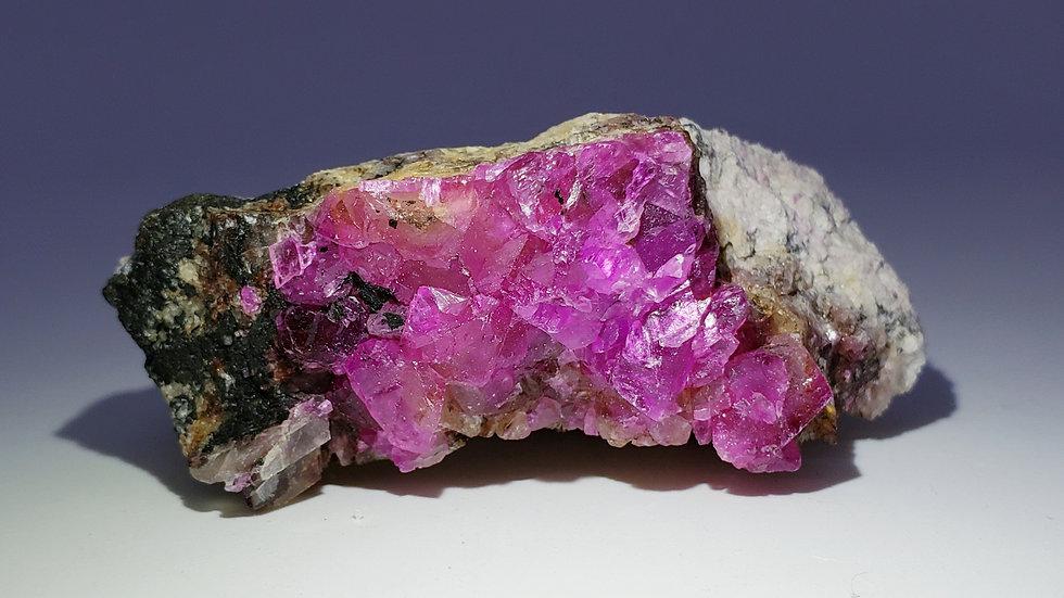 Vivid Hot Pink Cobaltoan Calcite from Congo