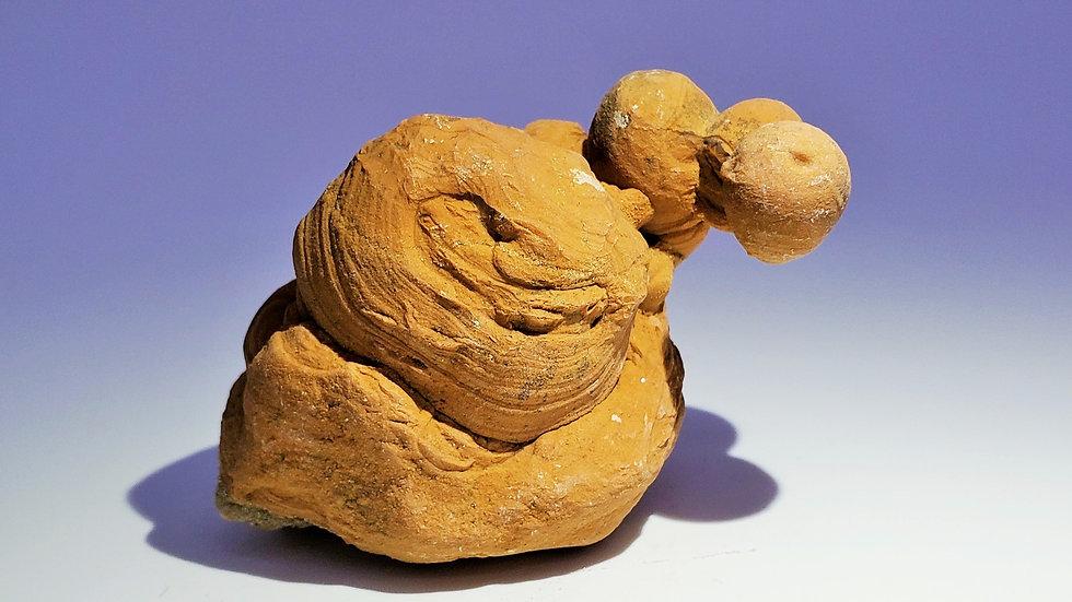Calcite Stalagmite from Wenshan Mine, Yunnan, China
