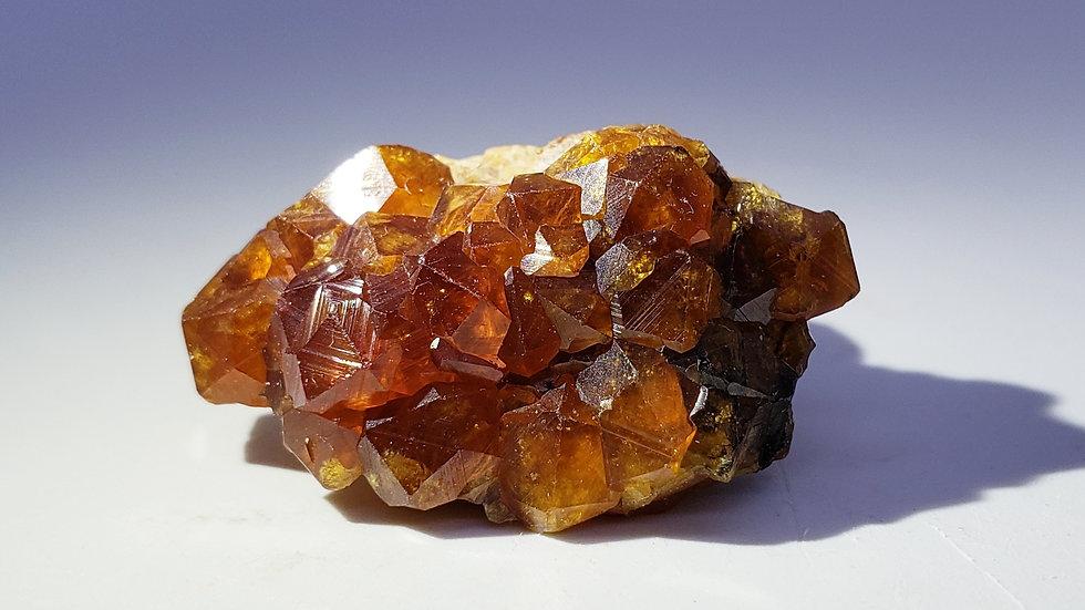 Gem Spessartine Garnets from Wushan Mine, China