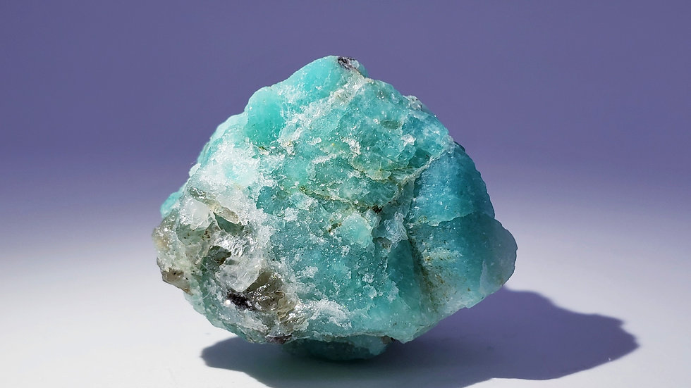 Amazonite and Smoky Quartz with Mica from Taquaral, Minas Gerais, Brazil