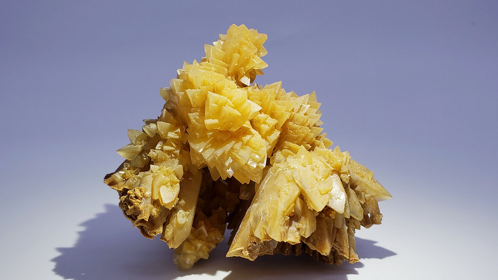 """Stalactite Calcite """"Flower"""" Crystals from Wenshan Mine, Yunnan, China"""