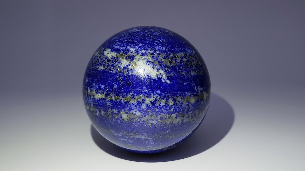Large Lapis Lazuli Crystal Sphere from Koksha Valley, Afghanistan