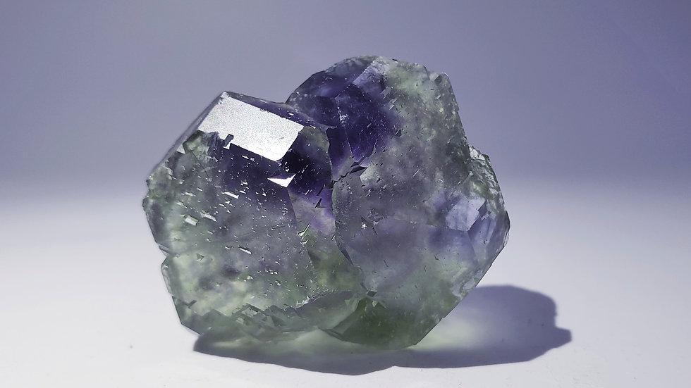 Phantom Fluorite Specimen from Dongposhan Mine, Hunan, China