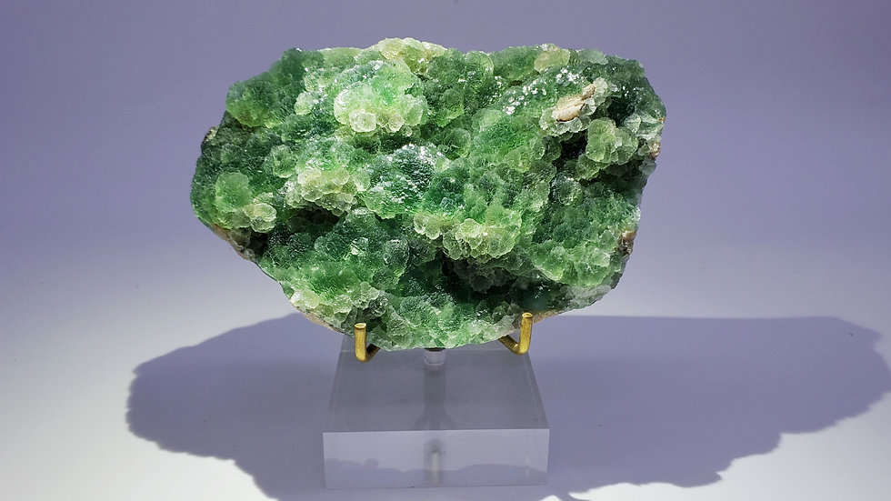 Collector's Piece: Bi-color Fluorite from Xinyang, Henan, China