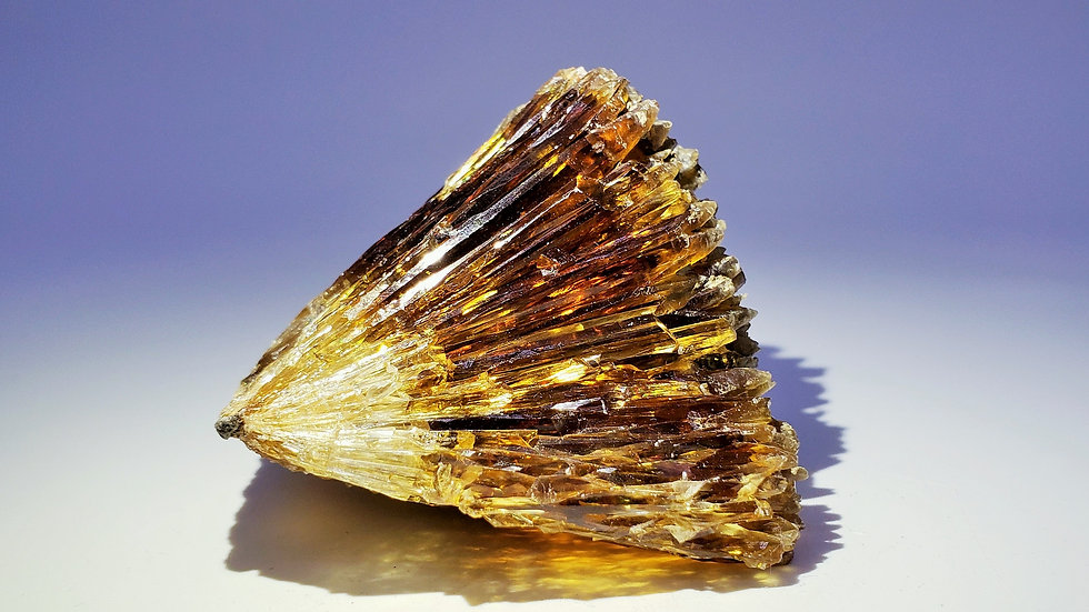 Collector's Piece: Calcite with Rainbow Iridescent from Qinglong Mine, China