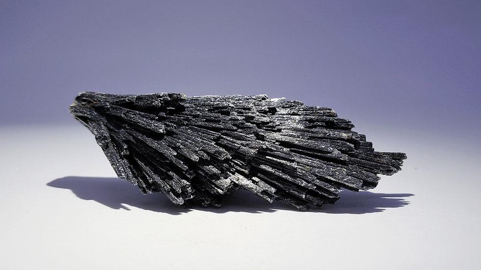 Black Kyanite Specimen from Ribeirão da Folha, Minas Novas, Minas Gerais, Brazil