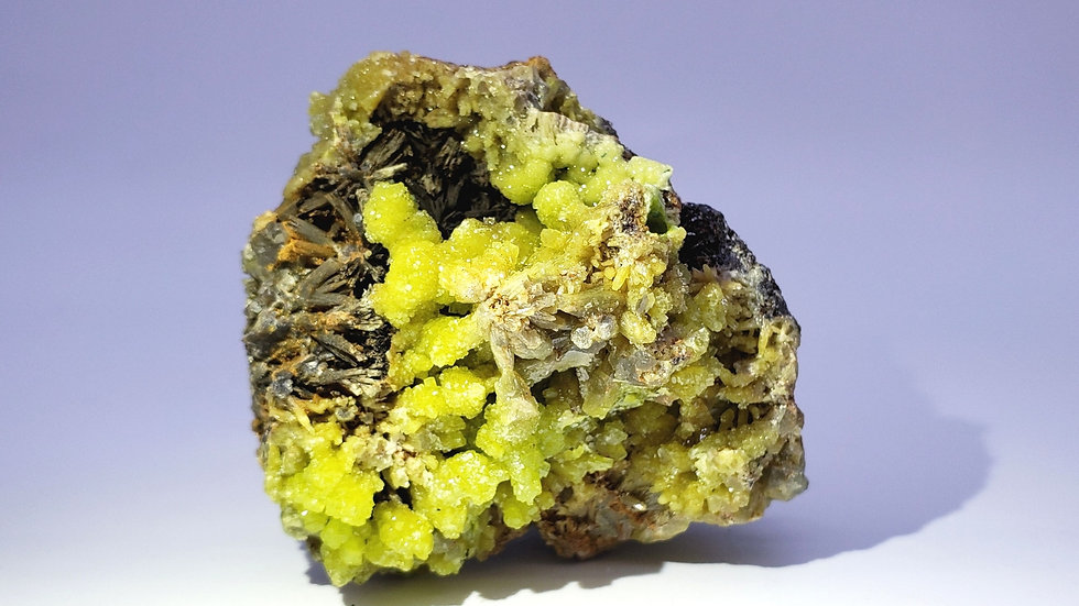Collector's Piece: Pyromorphite on Matrix from Daoping Mine