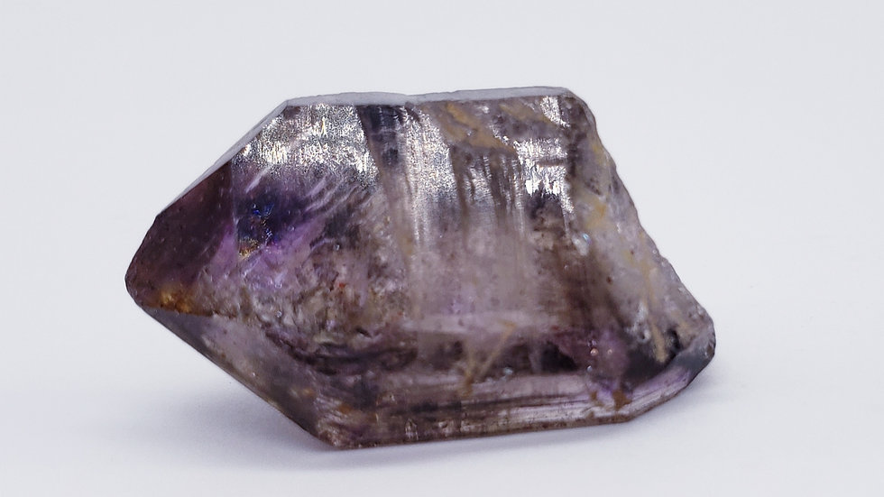 Enhydro Brandberg Amethyst Smoky Quartz from Goboboseb Mountains, Namibia