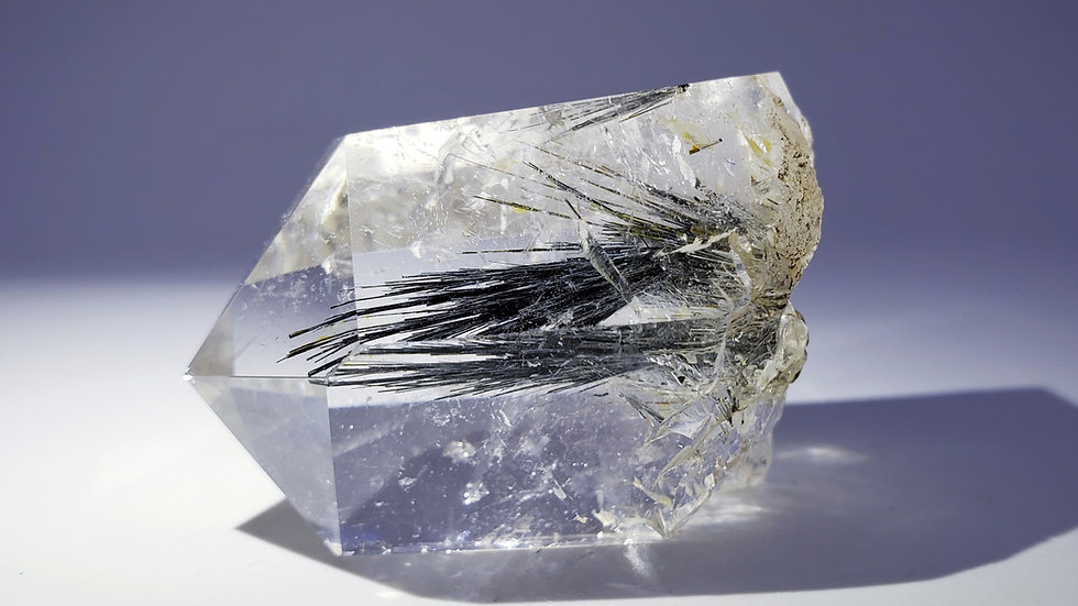 Collector's Piece: Rutilated Quartz from Seminário Farm, Brazil