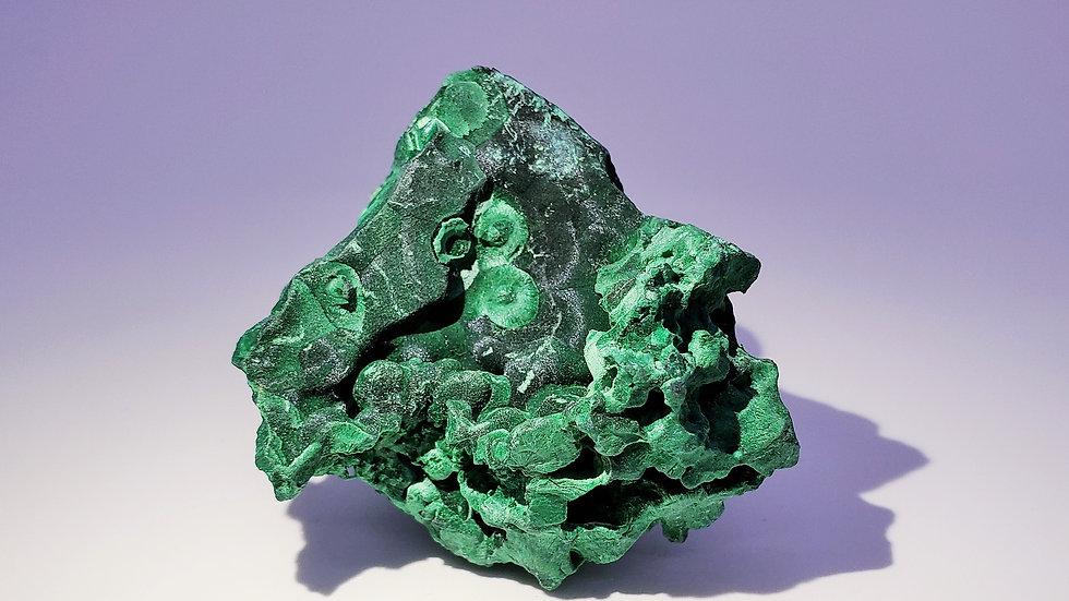 Malachite from Mashamba Mine, Congo