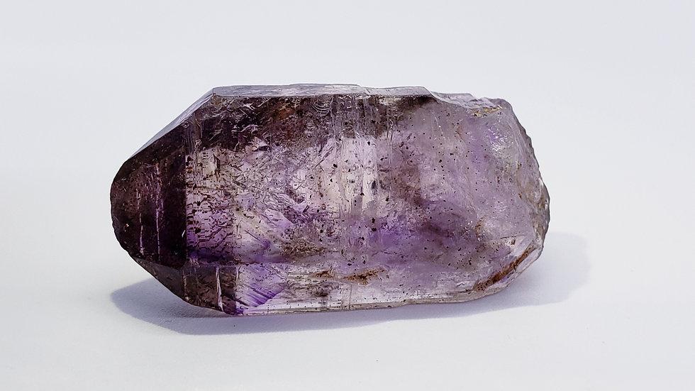 Enhydro Brandberg Amethyst Smoky Quartz Crystal from Goboboseb Mt., Namibia