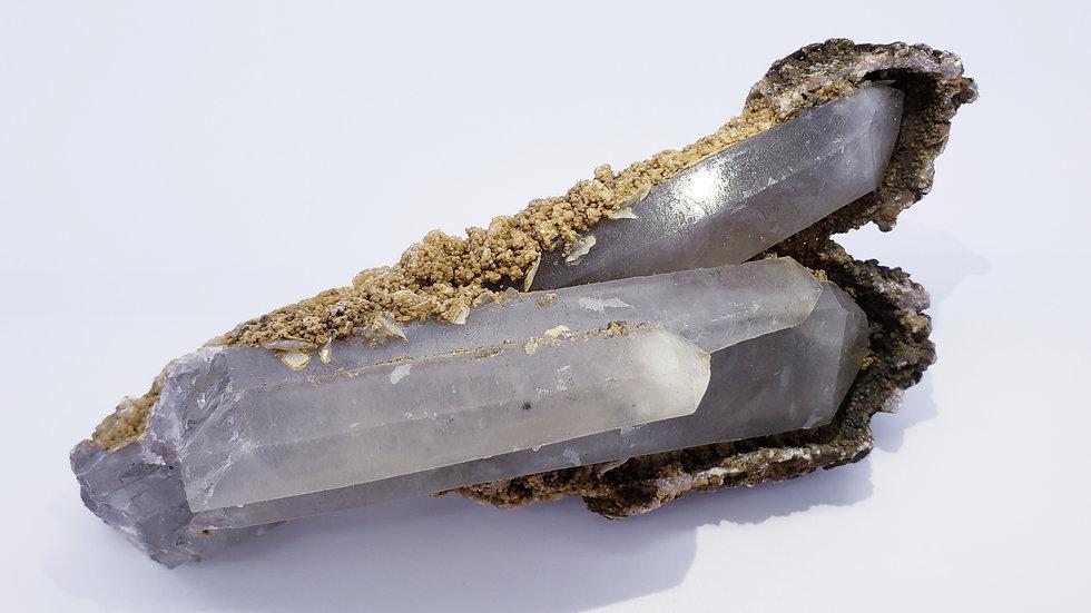 Mongolian Quartz Crystal Cluster