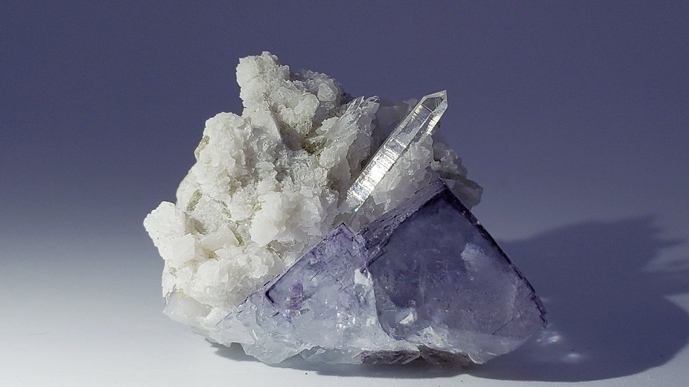 DT Quartz with Dolomite, Fluorite and Mica from Yaogangxian Mine