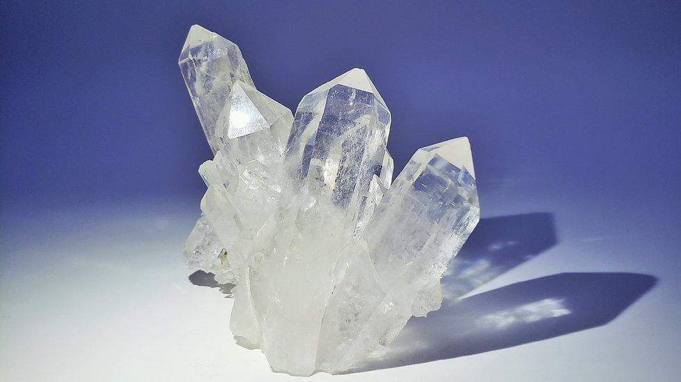 Himalayan Quartz Cluster from Tibet