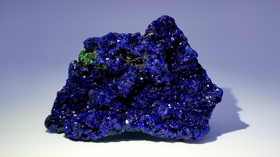 Azurite and Malachite from Sepon Mine, Laos