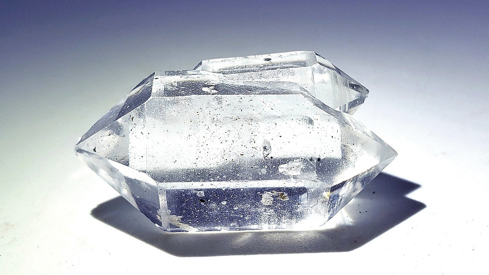 Quartz var. Herkimer Diamond from Herkimer County, New York, USA