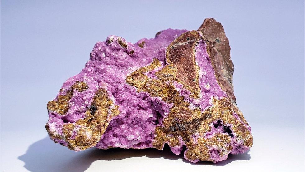 Druzy Pink Cobaltoan Calcite from Congo