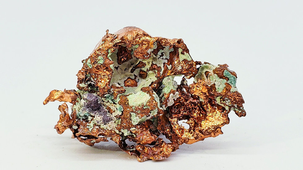 Native Copper from Keweenaw Co., Michigan, USA