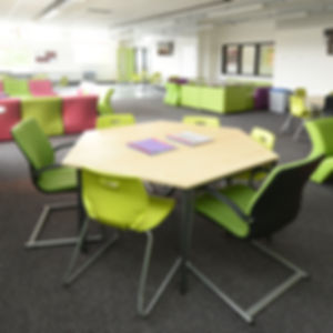 Classroom re-model Project management  Turn key service  Laminated fire doors