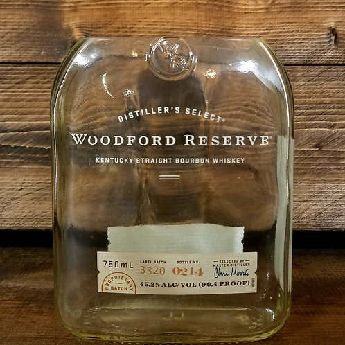 Upcycled Woodford Reserve 750mL